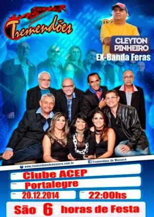 VII BAILE DOS ANOS 60 - EM PORTALEGRE-RN, SERÁ DIA 20.12.2014 NO CLUB ACEP.