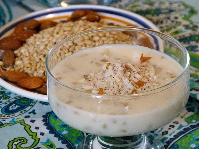 Ashura Ashoura Ägyptisches Dessert Rezept Ägypten