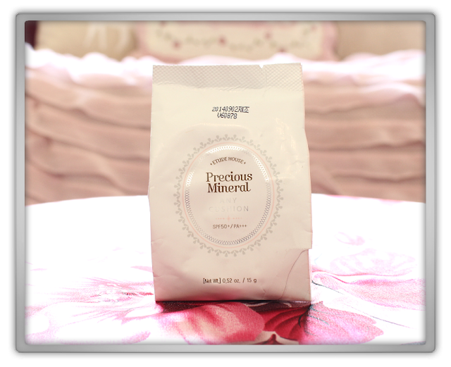 Jolse Order #10 Etude House Makeup Haul Review 2015 beauty blogger Precious Mineral any cushion Refill N02 Light Beige