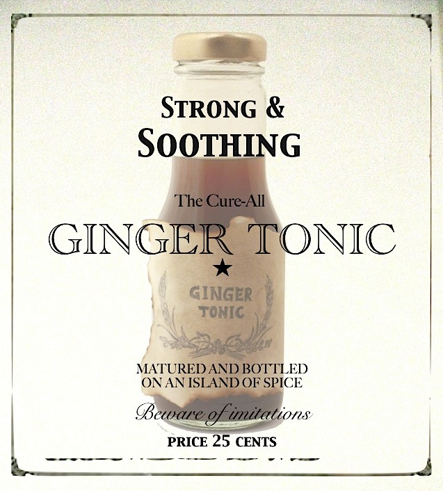 Strong & Soothing Ginger Tonic to help alleviate a cold, flu, or stomachache (by SeasonWithSpice.com)