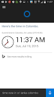 Android செயலி Cortana