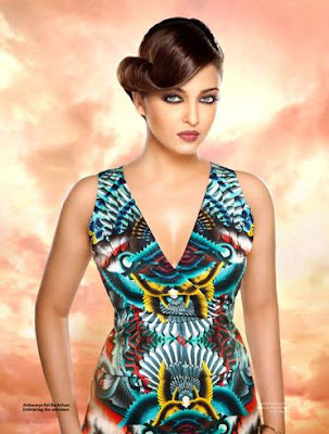 Aishwarya Rai Bachchan on Verve Magazine