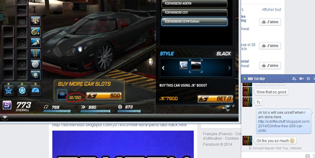 Free car slots nfs world