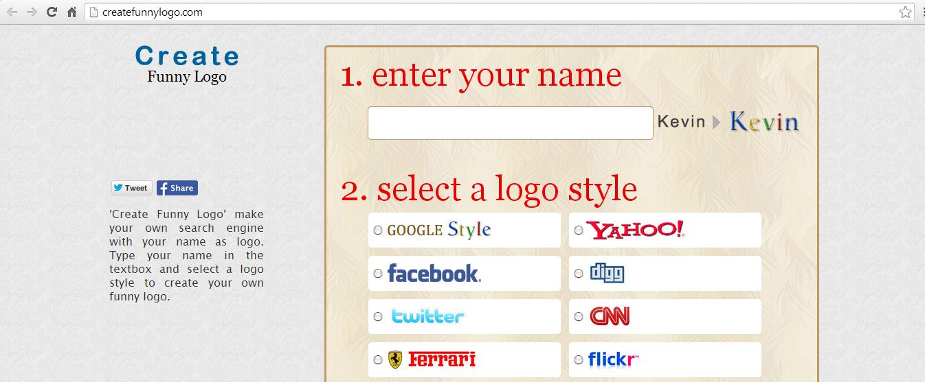 Cara Membuat Logo Search Engine Pribadi