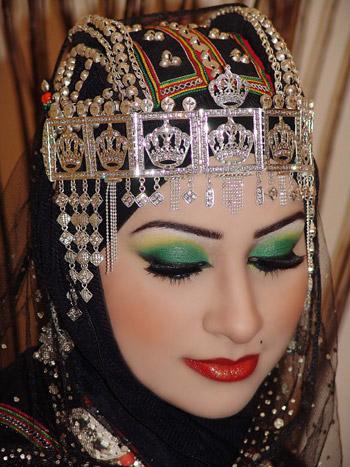 Arabic Eye makeup with Hijab