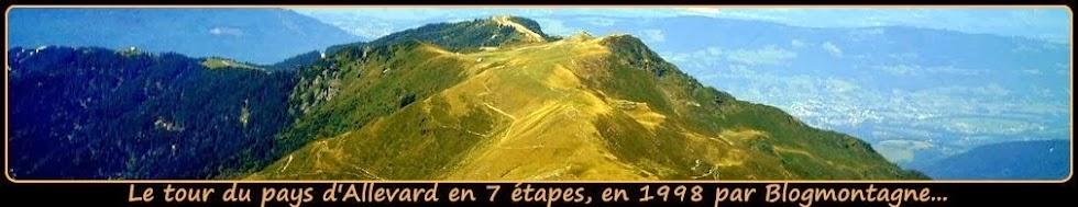➽ Le tour du pays d'Allevard, trek réalisé en 1998 par Blogmontagne ~
