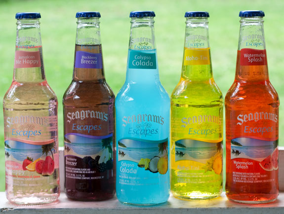 How many different Seagram's Coolers are there?