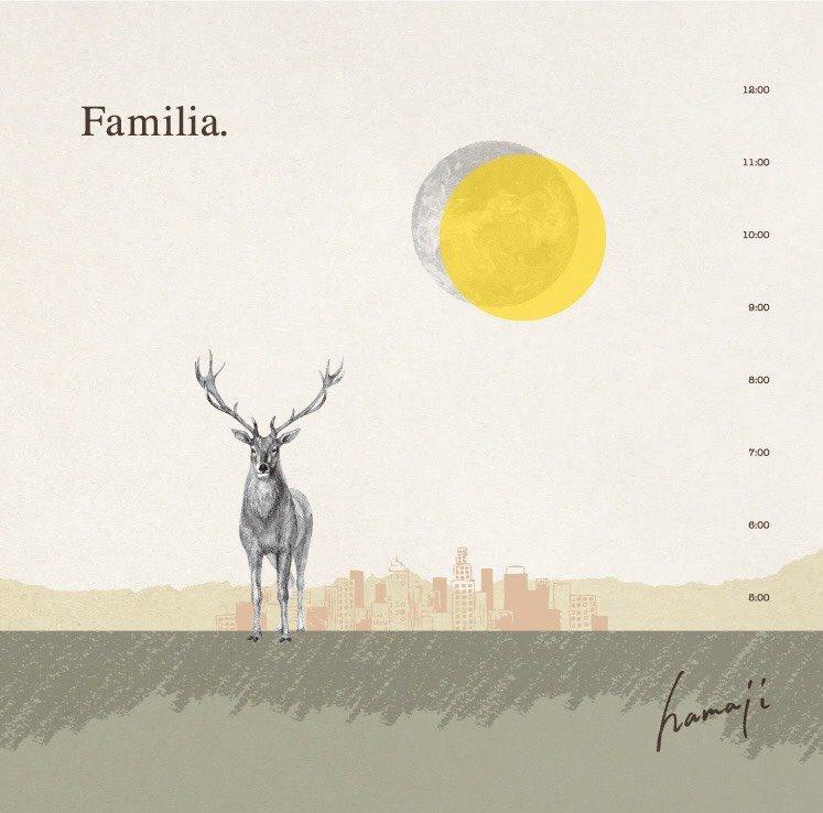hamaji 1stAlbum Familia