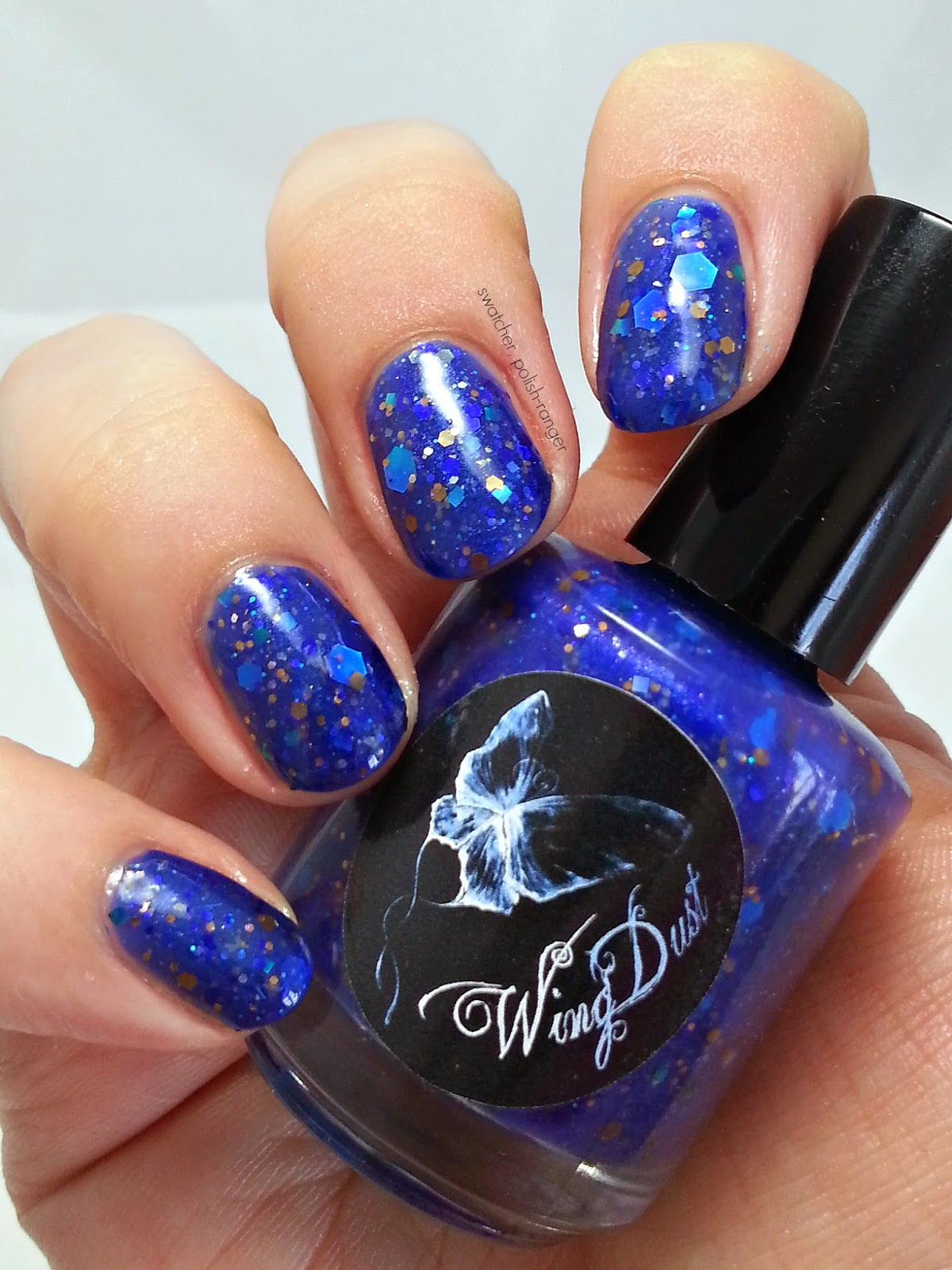 WingDust Collections I Ain't No Angel swatch