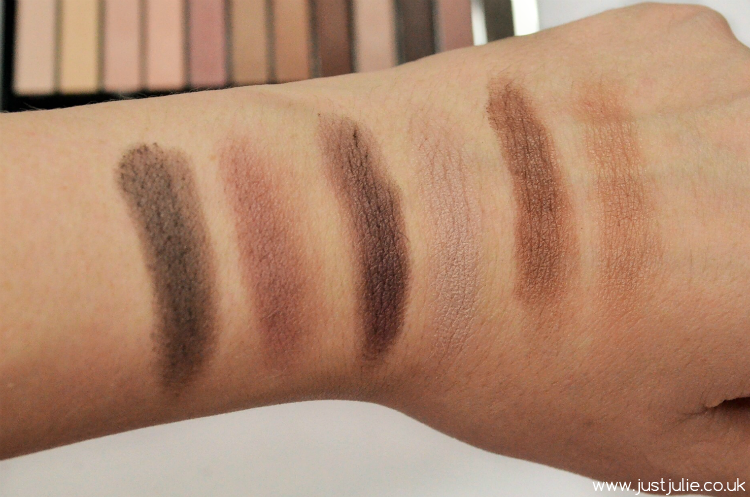 Makeup Revolution Essential Matte 2 Eyeshadow Palette Swatches