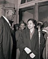 Rosa Parks & E.B. Nixon Montgomery Bus Boycott
