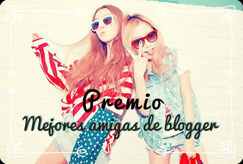 Premio Mejores amiga de blogger