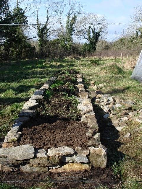 rock raised garden bed ideas Vegans Living Off the Land: Raised Bed Garden Ideas