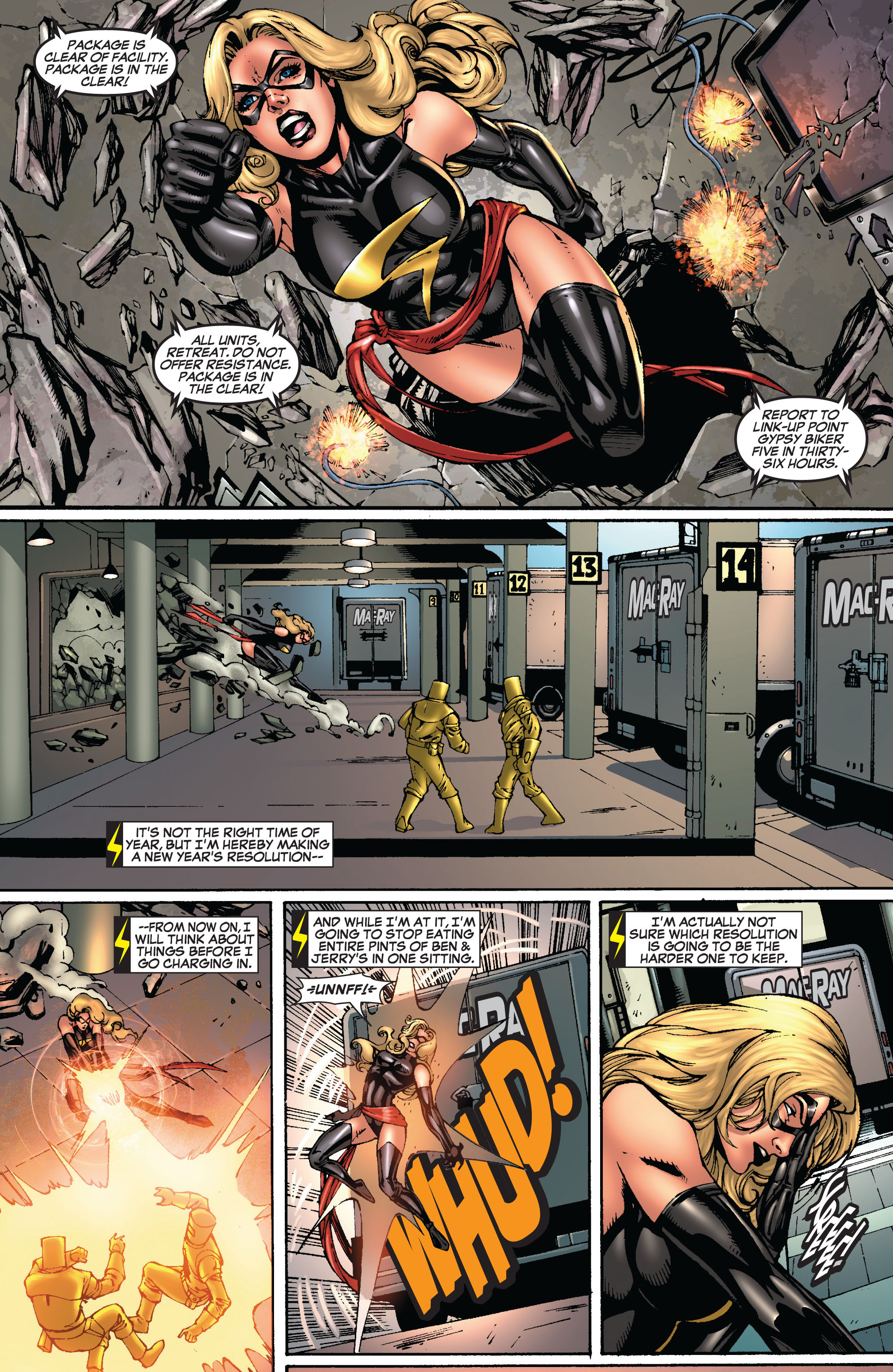 Read online Secret Invasion: The Infiltration comic -  Issue #8 - 11