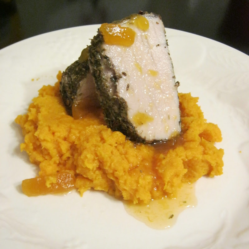 Bowden Life 101: Herb Roasted Pork Tenderloin with Preserves