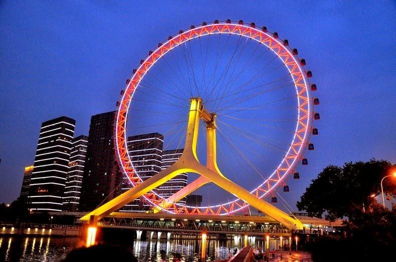 Ferris Wheel Eye of Tianjin