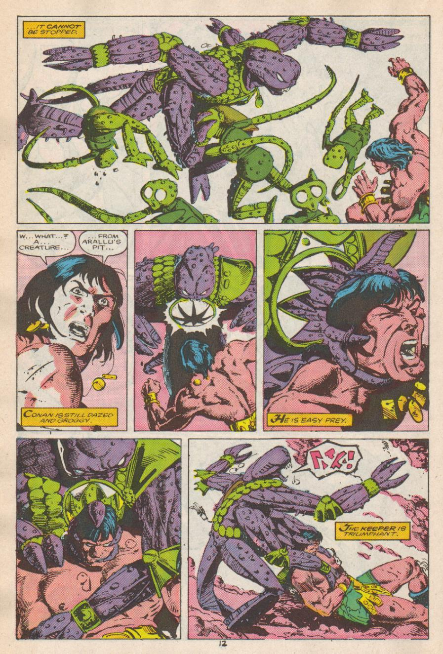Conan the Barbarian (1970) Issue #192 #204 - English 13