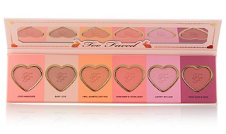 Too faced love flush blush set makeup collection spring chocolate beauty