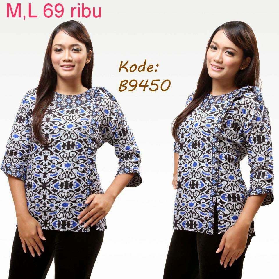 Model Baju Batik Batik Stok Tersedia