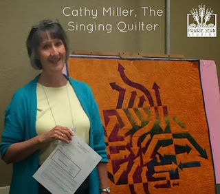 Cathy Miller The Singing Quilter Notan