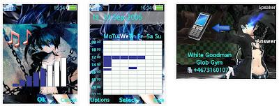 「黑岩槍手」SonyEricsson手機主題for Elm/Hazel/Yari/W20﹝240x320﹞