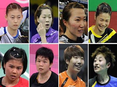 Kontroversi Badminton Olimpik London 2012 - 4 Beregu Wanita Disingkirkan BWF