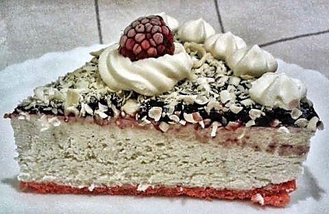 Corte tarta delicias