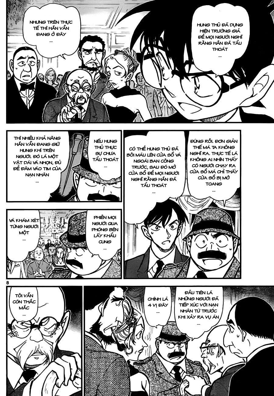Detective Conan - Thám Tử Lừng Danh Conan chap 763 page 9 - IZTruyenTranh.com