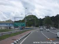 Pekan Bangar highway