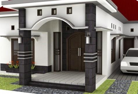 modelrumahminimalis 2016 contoh pilar teras rumah images