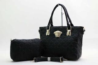 Tas KW VERSACE Shopping Tote Semi Premium 8609BJ Jakarta