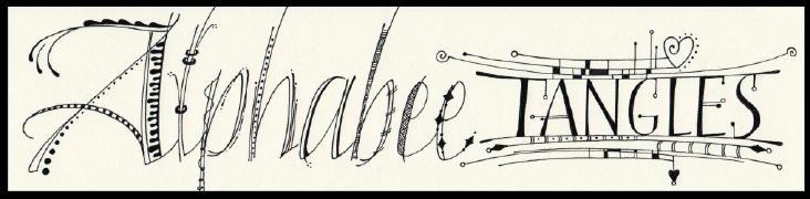 Alphabee Tangles