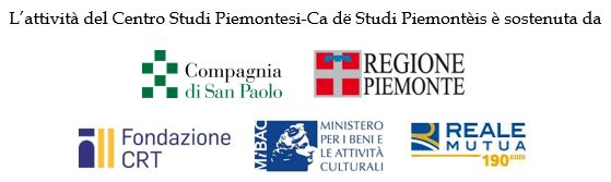 Centro studi Piemontesi novità del fascicolo invernale