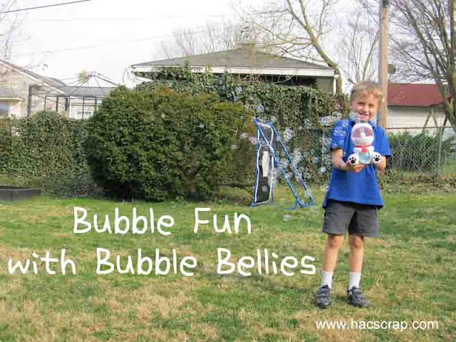 Blowing Bubbles in the Backyard
