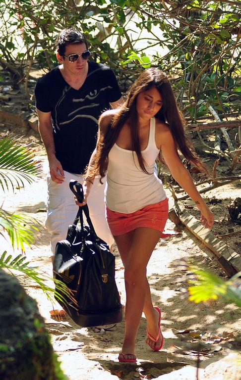 Découvrez Lionel Messi et sa copine Antonella Roccuzzo lors de leurs