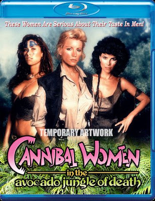 Cannibal Women in the Avocado Jungle of Death Blu-ray cover