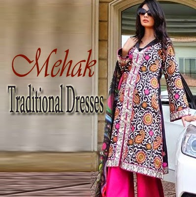 Mehak Traditional Dresses of Pakistan