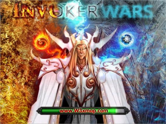 Map Invoker Wars V10b Invoker In Dota