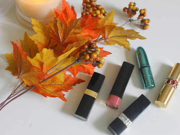 My Favourite Autumn Lipsticks.