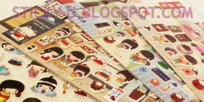 006: Ichigo's Japan Love Puffy Sticker