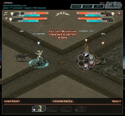 Six Gun Galaxy - PVP Battle