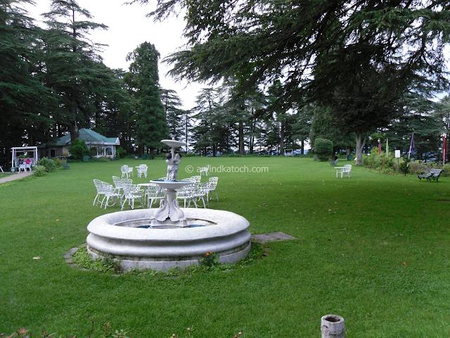 Garden, Chail Palace, Shimla, Himachal, India