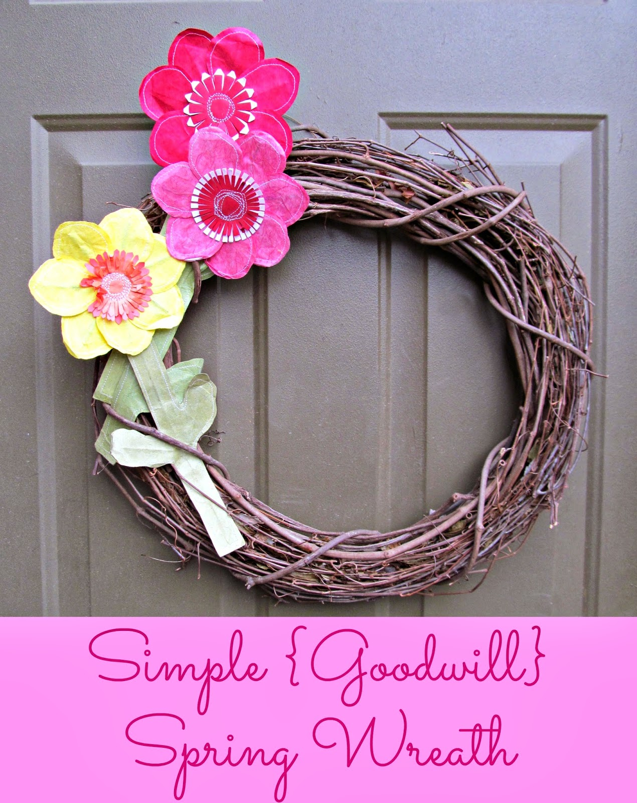 Simple Sring Wreath