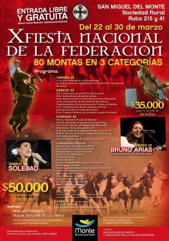 Fiesta Nacional de la Federacion San Miguel del Monte @ San Miguel del Monte | Buenos Aires | Argentina
