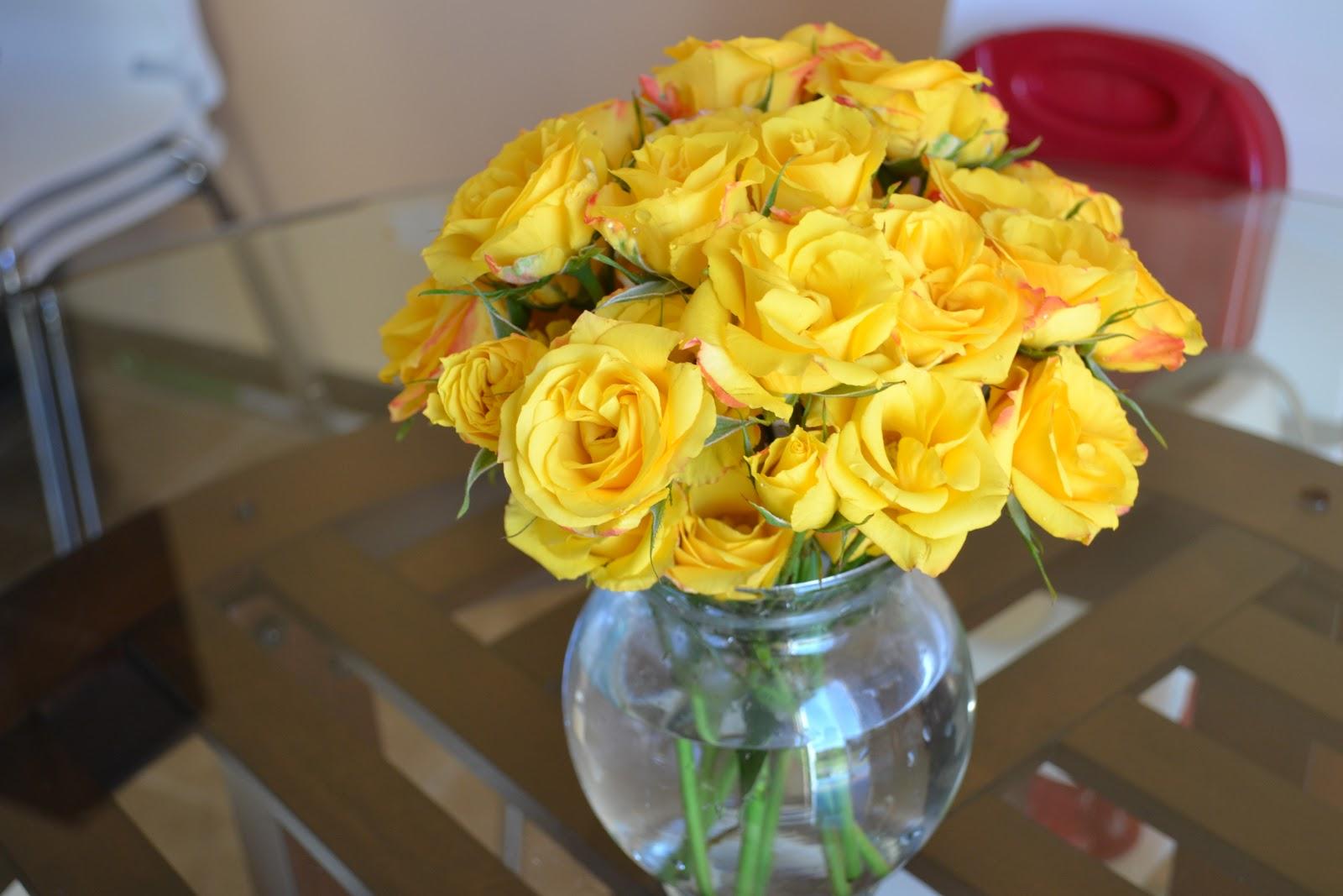 A little sunny flowers