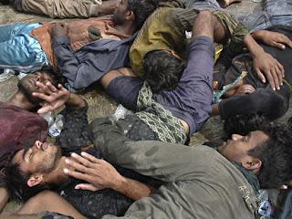 Serangan perang ganas rogol gadis wanita Myanmar Bunuh Umat Islam