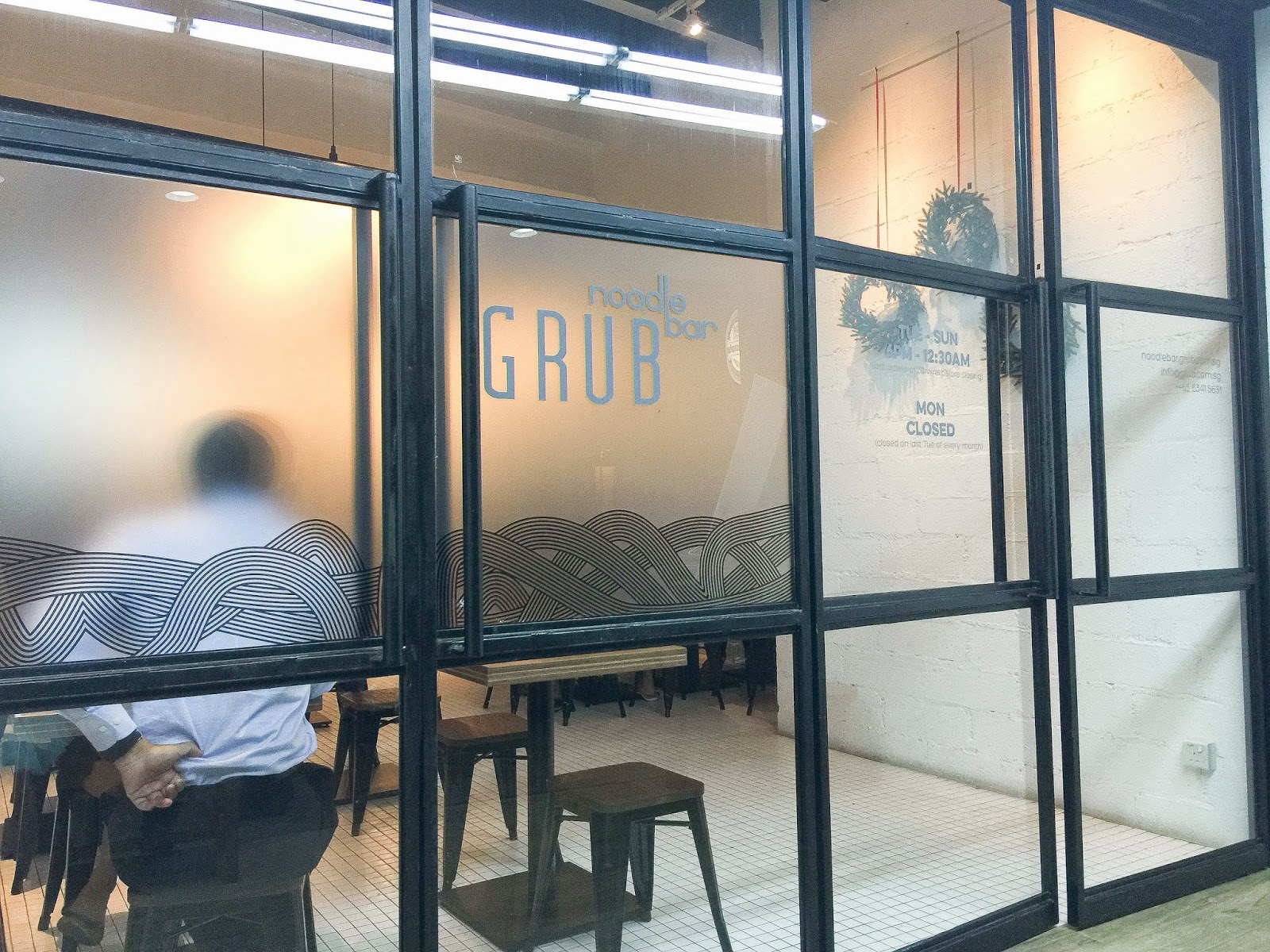 GRUB Noodle Bar Singapore