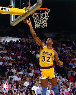 Magic Johnson Slam Dunk