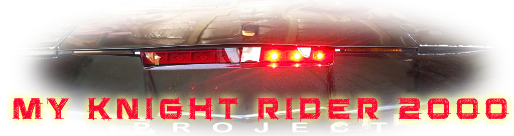 My Knight Rider 2000 project