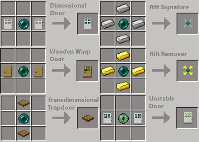Descargar Dimensional Doors Mod para Minecraft [1.6.2 y 1.6.4 ...